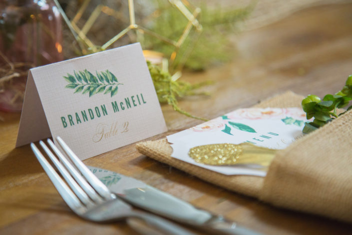 Meadows at Marshdale Wedding Venue, Evergreen, Colorado Wedding Place Setting