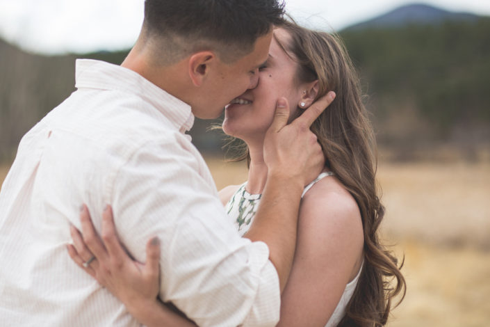 Brooke and Aaron's Evergreen Lake House Engagement by Jennifer Garza Photography