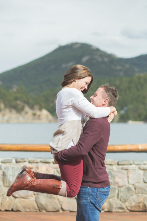 Jessica and Jeremy's Evergreen Lake House Engagement by Jennifer Garza Photography