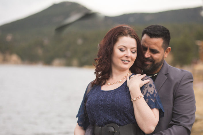 Meave and Victor's Evergreen Lake House Engagement by Jennifer Garza Photography