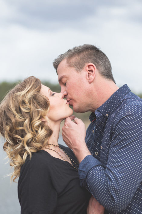 Whitney and Chris' Evergreen Lake House Engagement by Jennifer Garza Photography