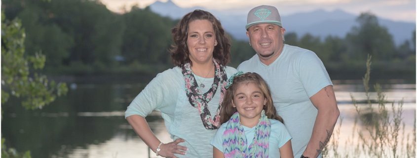 The Schlegel Family - Family Photography Session at Golden Ponds Nature Area in Longmont, Colorado