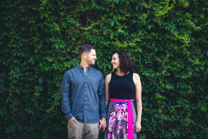 Kellie & Brian's Engagement Photography Session in Downtown Denver