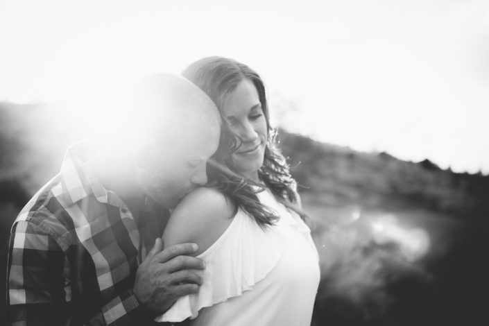 Monica & Jared's Engagement Photography Session at Horsetooth Reservoir, Colorado