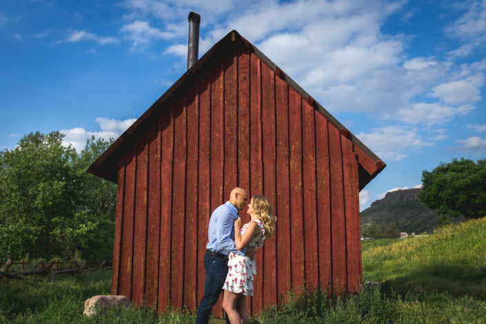 Kylie & Brian's Engagement Photography Session in Golden, Colorado